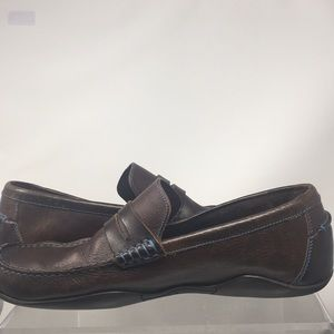 Harrys of London Basel Size 42 Brown Loafer